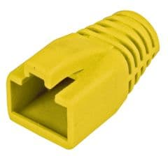 PRO SIGNAL PELR0210  Strain Relief Boot, Yellow, 8Mm